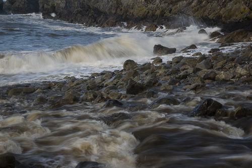 River meets sea, Aberbach