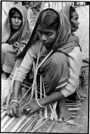 Mat making for the local market, Western Bangladesh