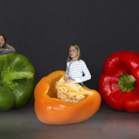 Giant Peppers