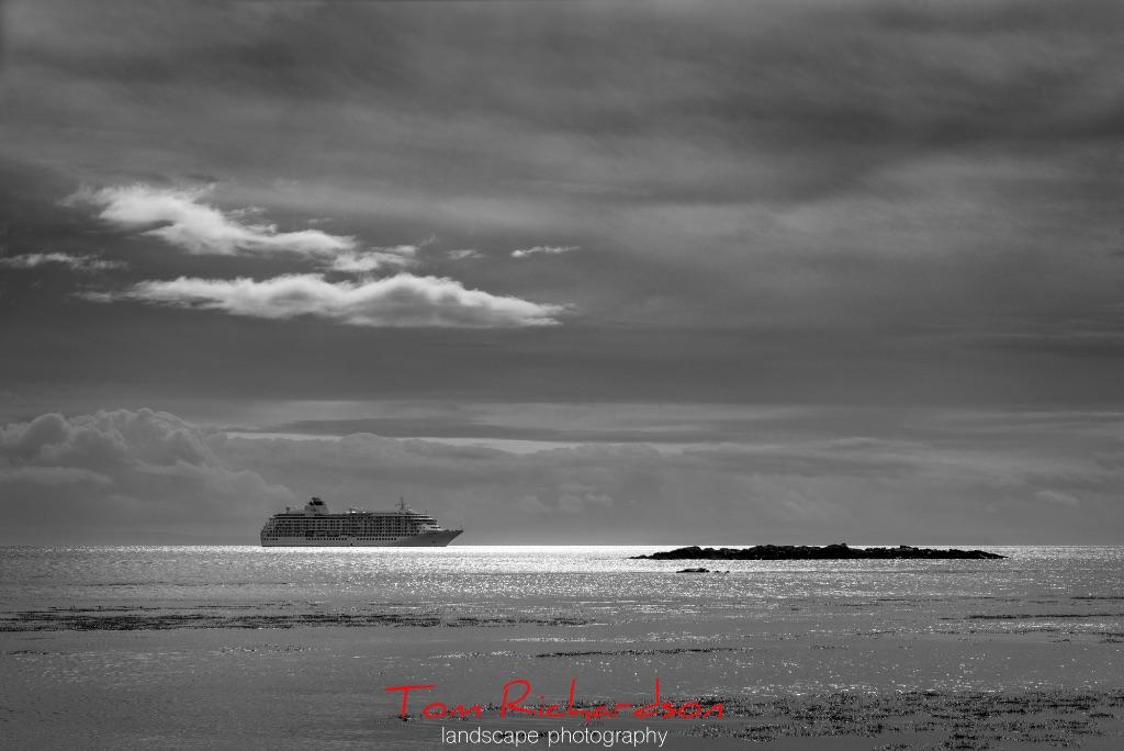 The World in Claggain Bay Islay