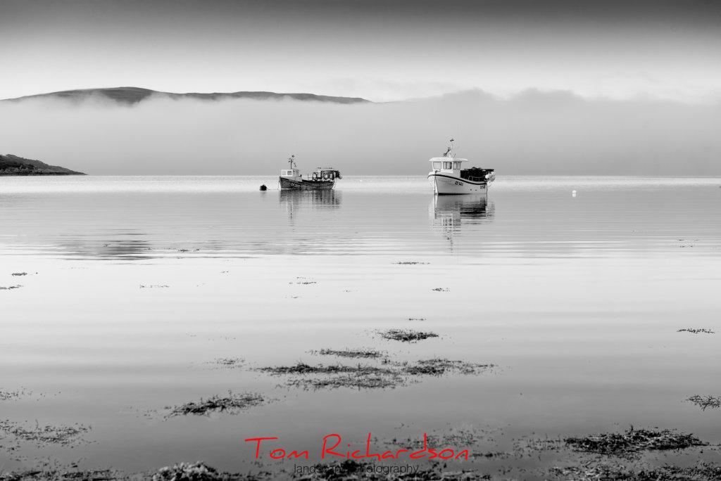 fishing boats loch sunart