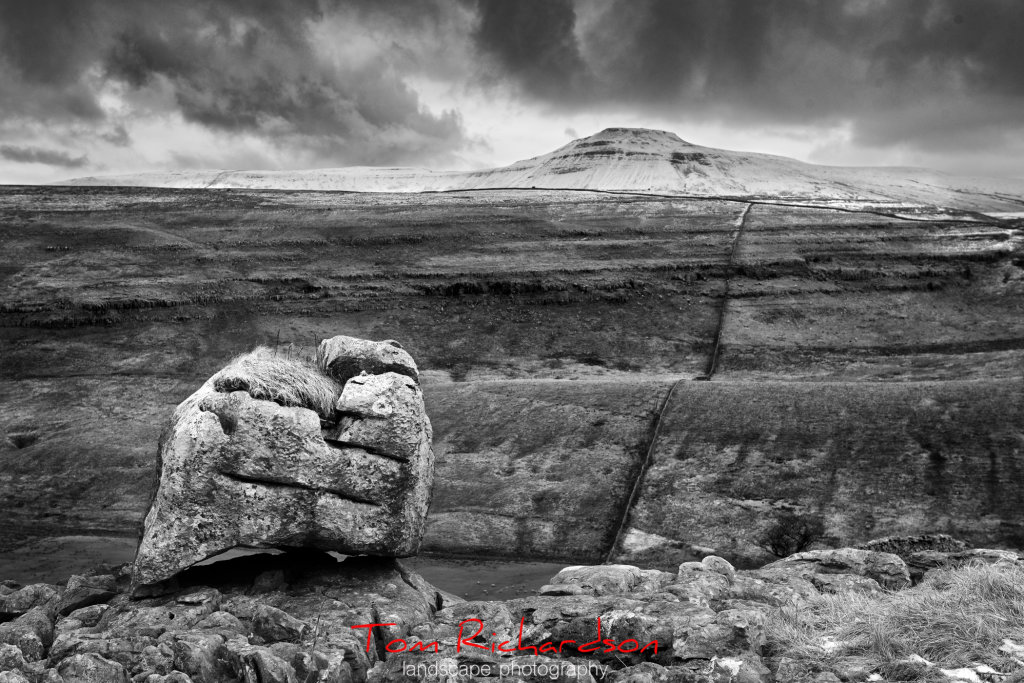 ingleborough from gragareth