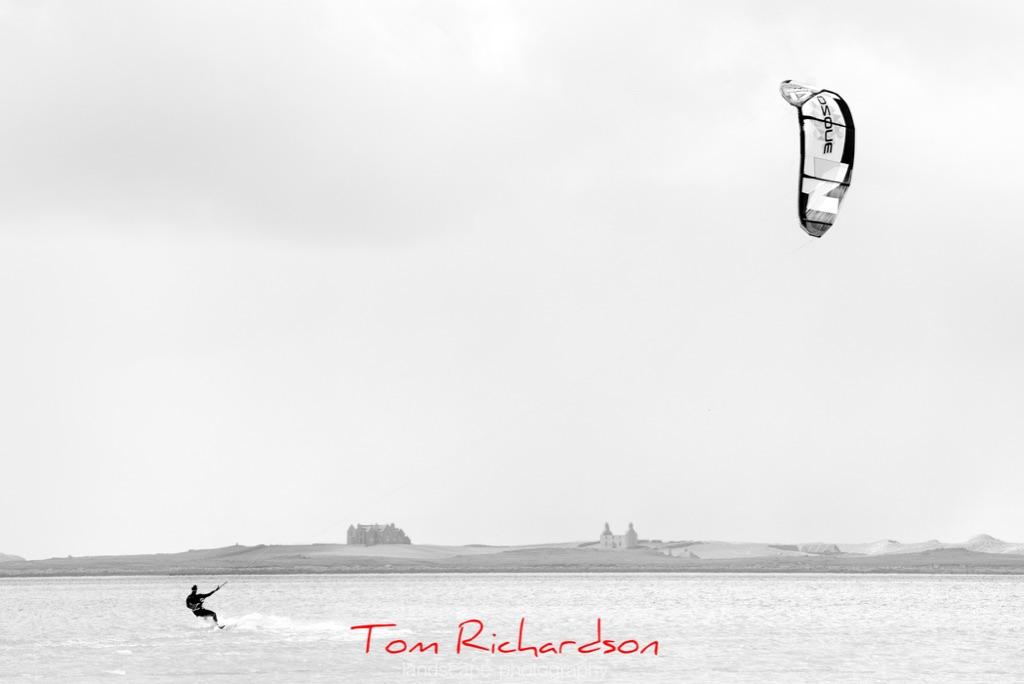 Kitesurfing Traigh Bhalaigh