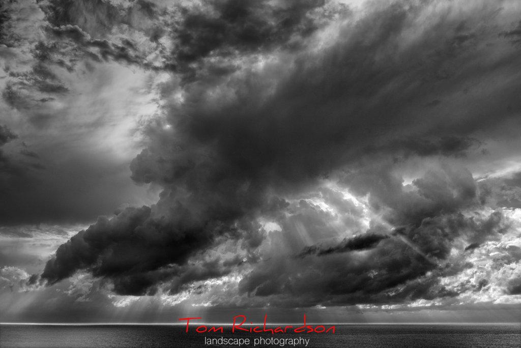 skyscape indian ocean