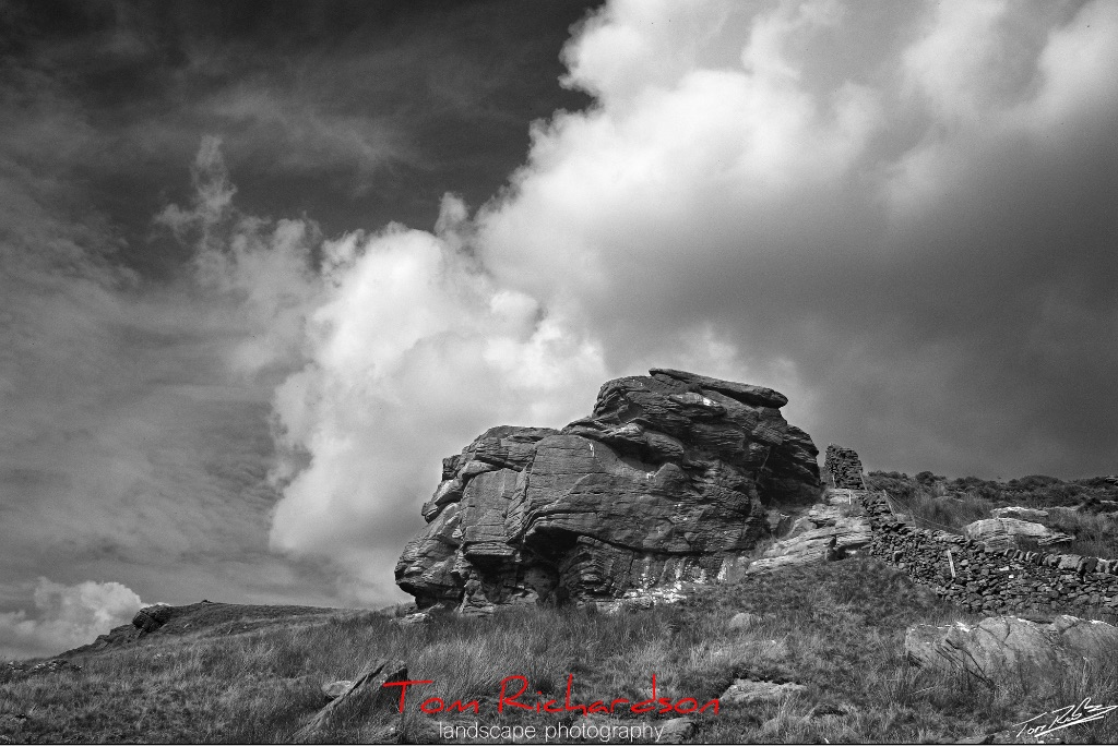 cold stone crag