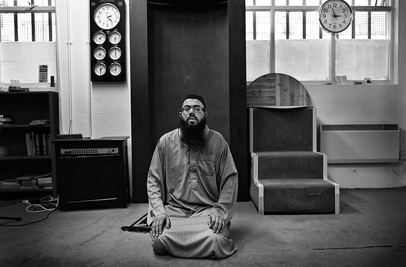 portrait of Imam Ismail Kotwal, Dublin