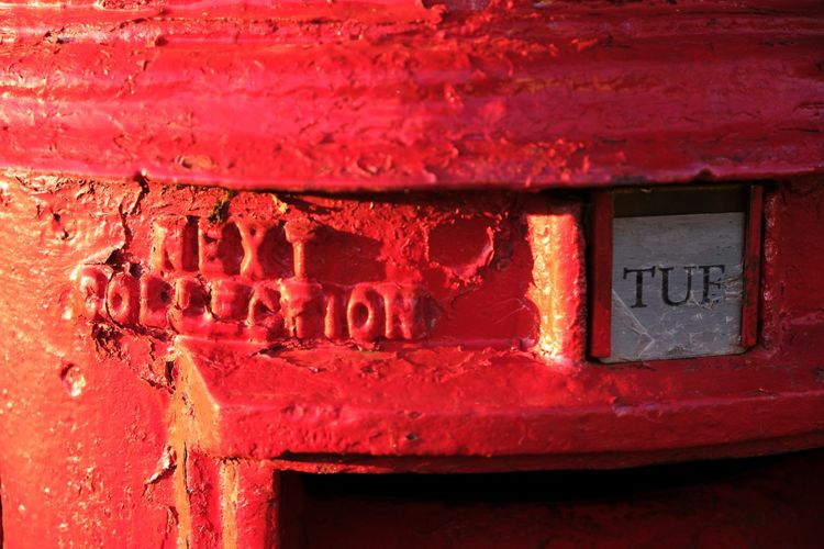 The Old Red Pillar Box