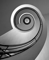 1st Spiral Stairway by Martin Ridout LRPS