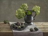 1st Still Life in Green by Inna Karpova