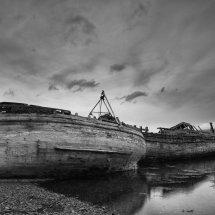 Long forgotten boats