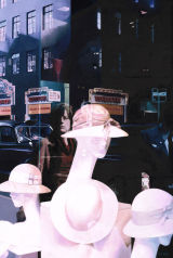 SUMMER HATS AND REFLECTIONS - LIBERTY'S WINDOW
