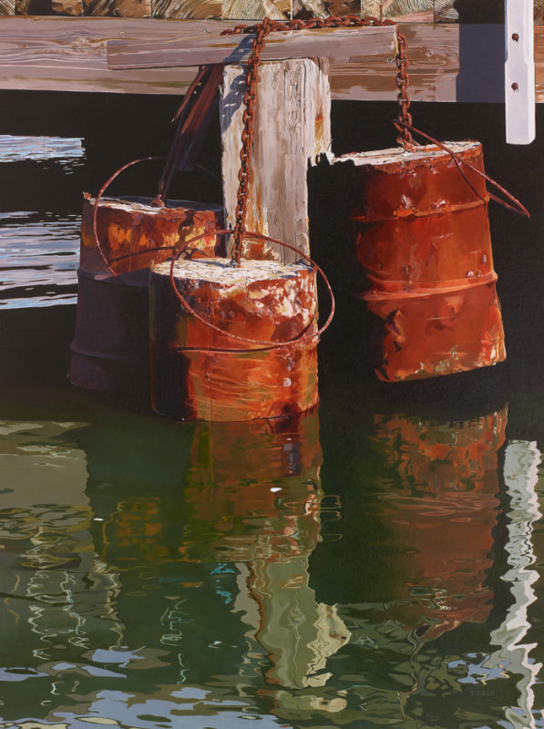 OIL DRUMS - NEWHAVEN