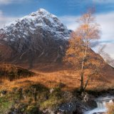 Bauchaille Etive Mor & the river Coupall