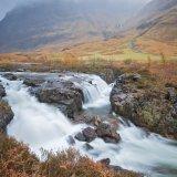 Glen Coe waterfalls