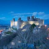 Harlech Castle, twilight