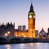 Houses of Parliament, dusk