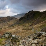 View from the Pyg track 2
