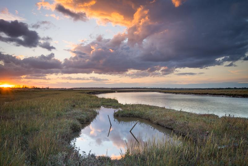 Suffolk sunset