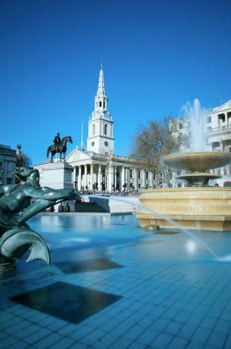 Trafalgar Square, Joe's view