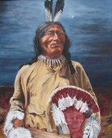 Fool Bull - Brule Sioux Indian - Oils