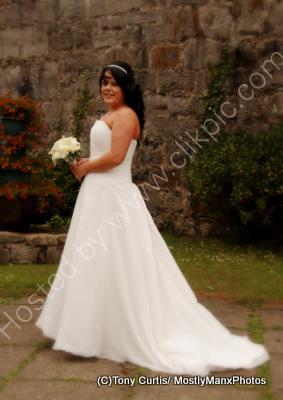 Wedding at Castle Rushen