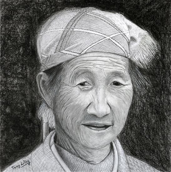 Chinese Putzehei woman