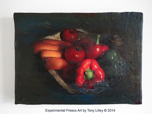 Experimental Fresco Art