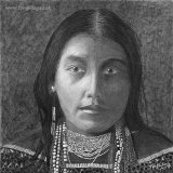 Hattie Tom - Portrait of Apache Indian woman