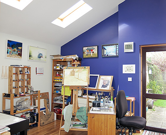 Tony Lilley's Studio