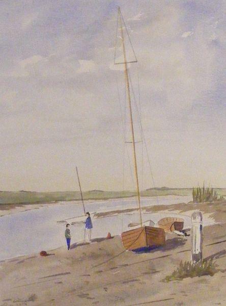 SOLD Tall Masts at Blakeney
