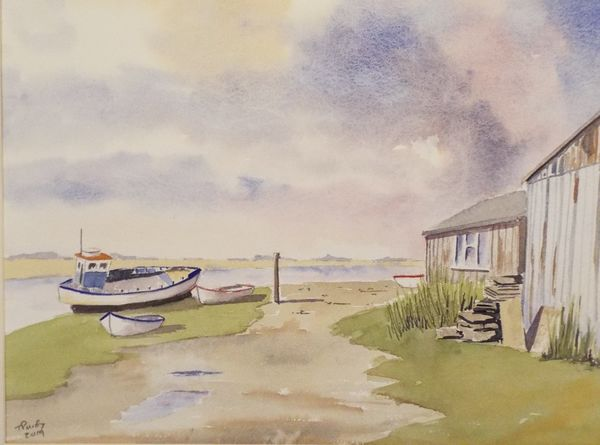 Brancaster Staithe, trouble brewing