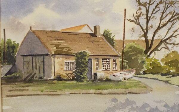 The old Blacksmith shop at Docking