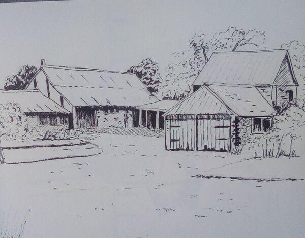 Barns near Bodam