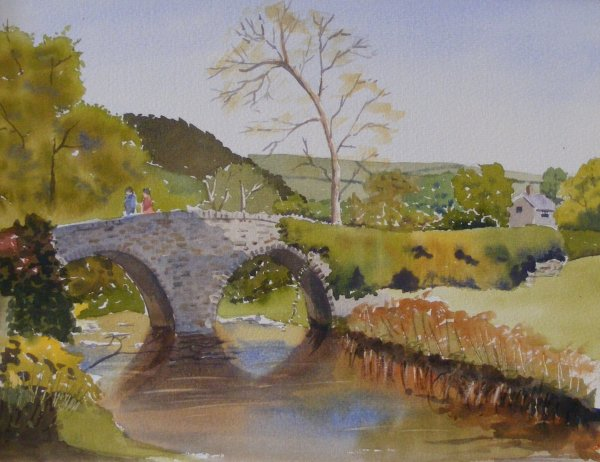 Packhorse bridge on Exmoor