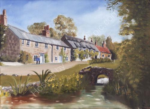 Winkle Street Isle of Wight (305 x210) £90 framed