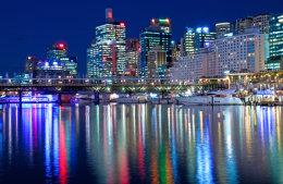 Darling harbour lights