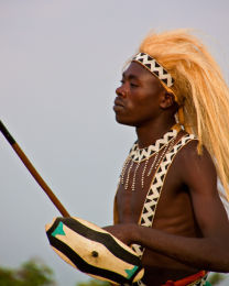 Traditional Intore Dancer