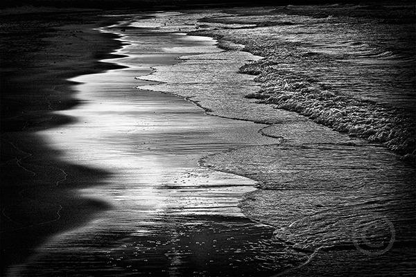 Waves at Sundown, Banburgh Beach