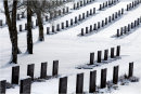 German Cemetary in Snow 2