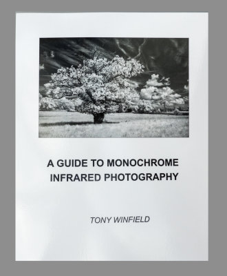 IR Monochrome Photography Book Cover