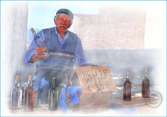 Greek Wine Seller