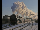 Snow and Steam at Swithland
