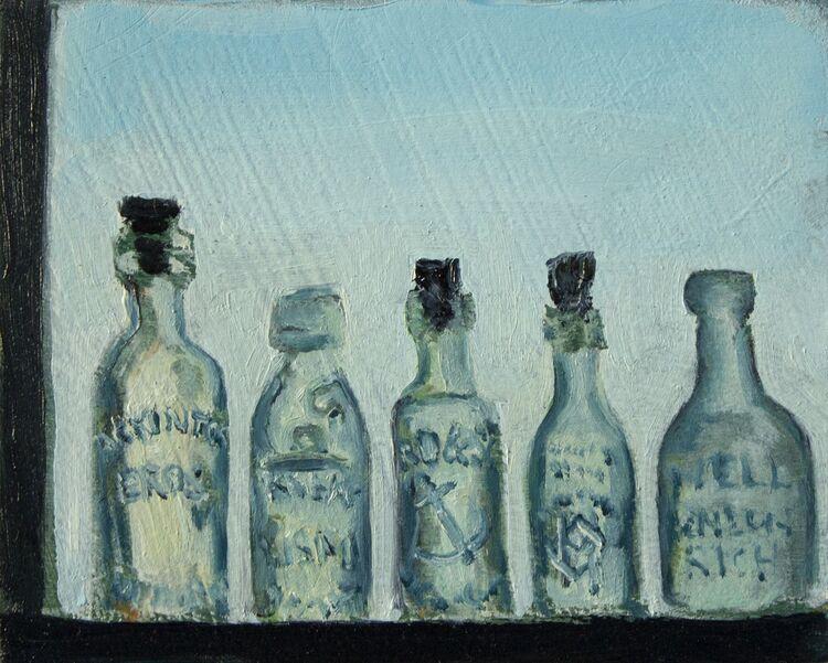 Green Bottles, Sunset
