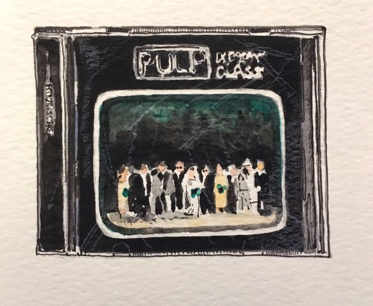 Pulp: Different Class (SOLD)