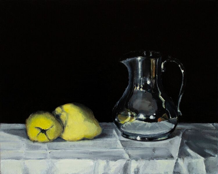 Still Life with Jug and Quinces (SOLD)