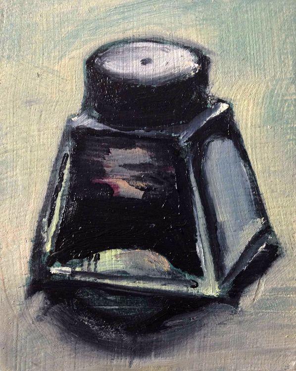 Day Job: Ink Pot II (SOLD)