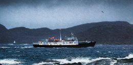 113. Hurtigruteskipet Lofoten