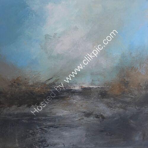 """Coastal reflections"" deep edge canvas"