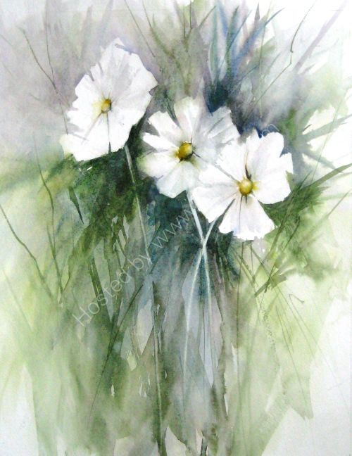 White daisies II