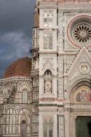 Florence.  Campanile and Duomo